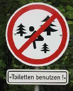 Jagalah kebersihan hutan tempatan..